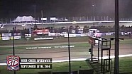 Highlights: World of Outlaws STP Sprint Cars Deer Creek Speedway September 13th, 2014