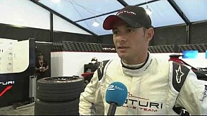 Formula E Beijing ePrix - Stephane Sarrazin interview