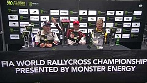 Germany RX winner's press conference - FIA World Rallycross Championship