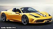 Ferrari 458 Speciale Aperta, Porsche 918 Catches Fire, 2015 Subaru Impreza - Fast Lane Daily