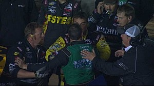 Teammates tangle in Texas