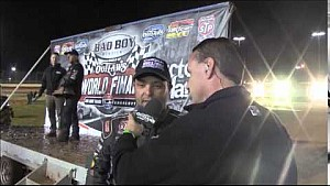 World Finals Interview with 2014 World of Outlaws STP Sprint Car Series Champion Donny Schatz