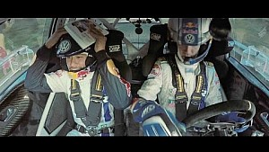 Neymar Attempts to Co-Pilot a Rally Car with Sébastien Ogier