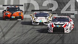 Incredible podium! Dubai 24hr- Race Highlights