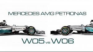 W05 vs. W06 - Visual comparison