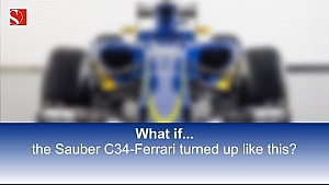 What if the Sauber C34...? - Sauber F1 Team