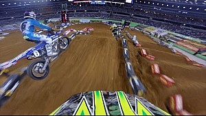 Onboard with Matt Lemoine - Main Event Supercross Lites from Arlington