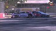 V8 Supercars 2015 Adelaide Mostert, Moffat last lap crash