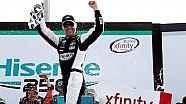 Harvick celebrates three in a row in Atlanta
