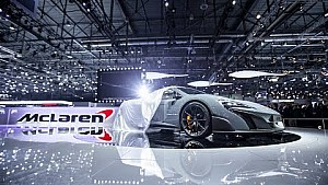 Highlights of the McLaren Press Conference at the Geneva Motor Show 2015