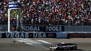 No luck needed for Harvick in Vegas