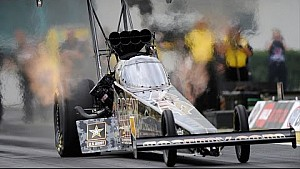 Tony Schumacher makes the best run Friday in Gainesville
