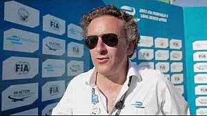 Long Beach ePrix - Alejandro Agag post-race interview