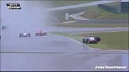 Авария в гонке Renault 2.0