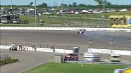 Milka Duno crashes during Iowa Quals