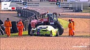 Le Mans 24H 2013 Practice Huge Crash Tracy Krohn