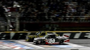 Photo Finish - Kahne edges Jones in contact-filled race