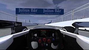 Berlin ePrix simulated lap