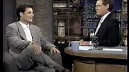 Jeff Gordon interview on Late Show 1995 NASCAR champion