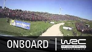 WRC - Vodafone Rally de Portugal 2015: Sordo Onboard SS16