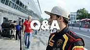Q&A with Dave at Monza