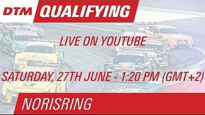 DTM Norisring 2015 - Qualifying (Race 1) - Live Stream