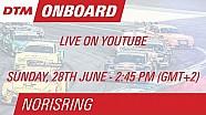 DTM Norisring 2015 - Bruno Spengler - Live Driver's Seat (Race 2)