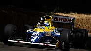 Felipe Massa drives the 1990 Williams FW13B at Goodwood