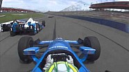 On Board - IndyCar à Fontana