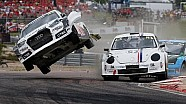 FIA World Rallycross Championship - Anton Marklund crash