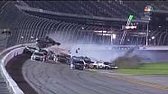 Massive wreck at end of NASCAR Daytona Coke Zero 400