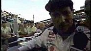 1995 Brickyard 400 - Earnhardt victory lane interview