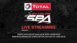 LIVE - 24 Hours of Spa 2015 - Super Pole