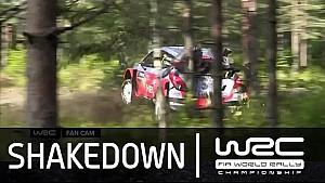 Rally Finland 2015: Shakedown