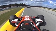 Eventful Mid-Ohio IndyCar practice kicks off the weekend