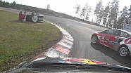 مقطع فيديو من الكاميرا المثبتة على سيارة هانسن: لفة أخيرة جنونية ضمن منافسات جولة السويد
