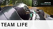 Nico Rosberg Takes On The Hill | Goodwood FOS