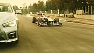 Red Bull Show Run 2015 Mexico: Track Run - Be F1rst