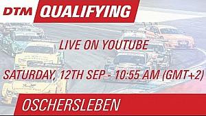 DTM Oschersleben 2015 - Qualifying (Race 1) - Live Stream