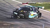 Massive crash at the start of the ADAC GT Masters Saturday race at Hockenheim