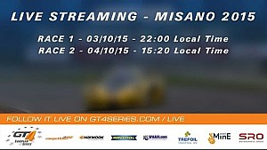 GT4 European Series - Race 2 - Misano 2015
