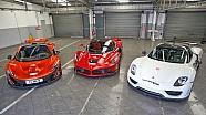 Teaser - Comparaison entre LaFerrari, la McLaren P1 et la Porsche 918 Spyder