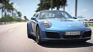 Dévoilement des Porsche 911 Carrera 4 et Targa 4