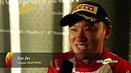 Finali Mondiali Ferrari | Podio Gara 1 Coppa Shell APAC, le interviste