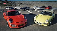 All generations Porsche 911 RS! #rsfest
