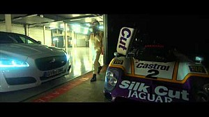 Andy Wallace drives Jaguar XJ-R9 and XJR at Silverstone day and night