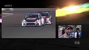 José María López wins race 1 in Qatar