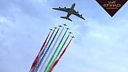 Яс-Марина с высоты полёта A380