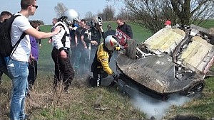 Insane rally crashes compilation 2015