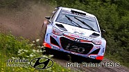 Hyundai World Rally Team testing for Rally Finland 2015